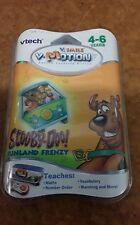 Scooby Doo Funland 4 - 6 años Vtech V-SMILE MOTION Cartucho De Juego-libre de Reino Unido P&p