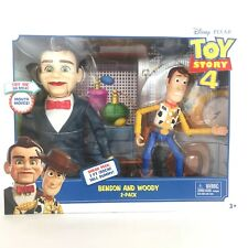 Disney Toy Story 4 Movie BENSON AND WOODY 2 Pack Figures DUMMY Mouth Moves