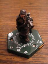 "Lotr Tmg Combat Hex Pd 04 Gimli ""Rare"""