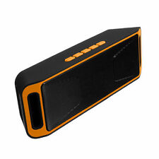 SC208 4.0 Wireless Bluetooth Speaker Stereo Subwoofer Support FM TF USB Orange