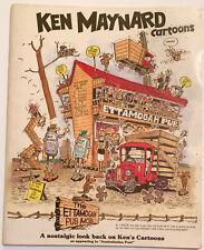 KEN MAYNARD - ETTAMOGAH PUB - 1978 -- 68-PAGE CLASSIC AUSTRALIAN CARTOON COMICS