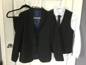 Next Boys Black 5 Piece Suit Age 12yrs