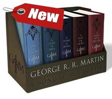 Game of Thrones Book Collection Set Hardcover George R. R. Martin Set 1-5 New