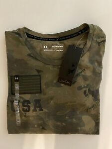 Under Armour Men's Project Rock Veteran's Day Graphic T-Shirt Size XXL NEW