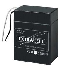 Batteria al piombo ermetica ricaricabile 6V 13Ah  cod. 6449