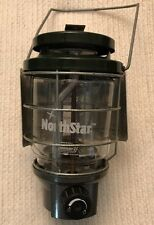 Coleman Northstar Propane Lantern w/adjustable Coleman Heat Shield Added (d3)