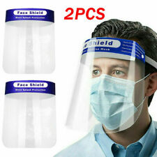Safety Protective Splash Proof Full Head mounted Face Eye Shield