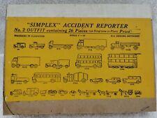 "Vintage ""Simplex"" Accident Reporter No.2 Outfit, 26 Pieces"