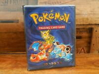 Pokemon TCG Trading Card Game Base Set Collection Book Album Folder Case Retro