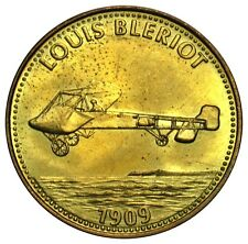 Netherlands fuel station reward token Shell Louis Bleriot plane 1909 1990's