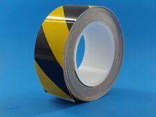 "BLACK & YELLOW Super Line Caution Tape 50mm x 20M (about 2""x 65'/21yds) (9051)"