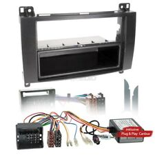 MERCEDES A-CLASS C/W169 04-12 1-Din Car Radio Installation Set Canbus FACEPLATE