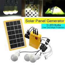 3W 3 LED Light Solar Small System Highlight Energy Saving Light Solar Lighting