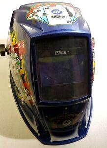 Miller Elite Joker Digital Welding Helmet Used
