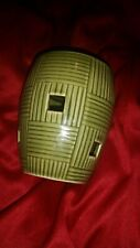 Scentsy Green Weave Plug In Warmer READ Description