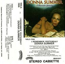 "DONNA SUMMER ""I REMEMBER YESTERDAY"" CASSETTE 1977 casablanca"