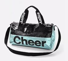3d833d730604 Justice Girl s Cheer Flip Sequin Duffle Bag NWT Cheerleader Hyacinth NEW  2018