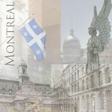 MONTREAL COLLAGE 12x12 Scrapbooking (2PCS) Paper TRAVEL VACATION
