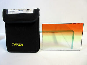 "Tiffen 4x5.65"" Sunset Grad 3 Soft Edge Filter Horizontal Graduated 4565CGSU3H"