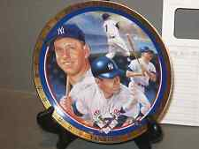 Hamilton Collection Mickey Mantle Plate 1961 Home Run Duel