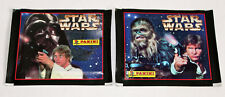 Panini Star Wars (1996) 2 X Sac Paquet Bustina Motifs Han Solo + Luke Skywalker