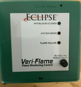 Used Eclipse VF560532AA Veri-flame Burner Monitoring System,Ultra-Violet No Purg