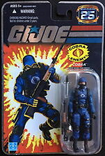 Gi joe 25th Silver Logo The Enemy 3 3/4 Action Figure Package