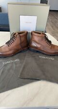 Tom Ford Men's Luxury Leather Sigaro Boots EU45 RRP £1400