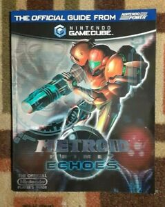 Metroid Prime Echoes Nintendo Power Official Strategy Game Guide Excellent