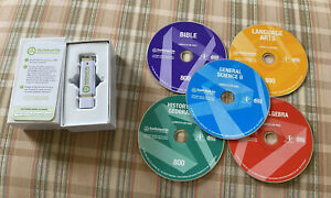 USED Switched-On Schoolhouse Curriculum Discs and Flash Drive 2012 SEE PICS (K)
