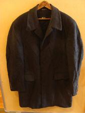 // Authentic Boss Hugo Boss Dark Gray Wool Men's Coat 'Siletto' Size 40R