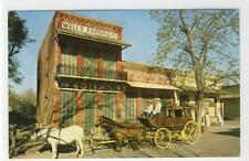 AK Columbia, California, Old Time Stage, 1978