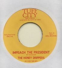 "The Honey Drippers ‎""IMPEACH THE PRESIDENT"" Vinyl 7"" (45RPM, Funk, Breaks)"