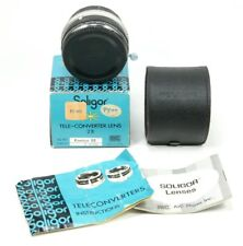 Soligor Tele-Converter Lens 2X for Konica EE New with Box