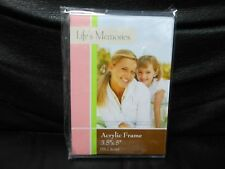 "Clear Acrylic Picture Photo Magnetic Frame 3.5""' X 5"""