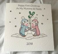 Personalised 1st Christmas/Xmas as My Mummy and Daddy