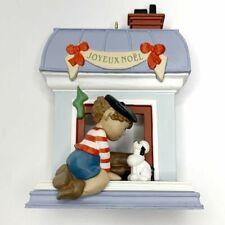 Windows of the World Joyeux Noel  Hallmark Collector Ornament with Original Box