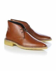 """Clarks ORIGINALS Ladies """"Friya Desert""""  tan Leather Boot UK various sizes"""
