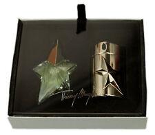 Thierry Mugler Angel Parfum 5ml & Silver Metal Refillable Spray 2ml Set