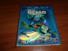 Finding Nemo (Blu-ray/DVD, 2012, 3-Disc Set) NEW With Slipcover