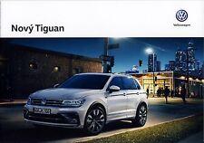 Volkswagen Vw Tiguan 12 / 2015 catalogue brochure tcheque Czech rare