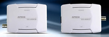 AVTECH AVX912T/R Ethernet over Coaxial Converter 400M Diagnostic LED lights CCTV
