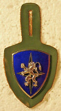 NATO 4th Allied Tactical Air Force Pocket Badge Crest Insignia with Fob