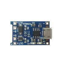 Micro USB 1A Lithium Li-ion Protection 18650 Battery Charging Board 3.7/3.6/4.2J