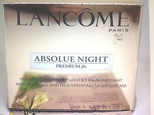 LANCOME PARIS ABSOLUE PREMIUM BX NIGHT CREAM SEALED NEW BOX  2.6oz REPLENISHING
