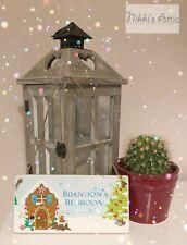 Christmas Bedroom Door Name Plaque, Handmade, Gift, Personalised,Decoration.