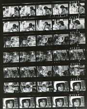 MICHAEL GRAY LES TREMAYNE MOTORCYCLE SHAZAM! ORIG 1974 CBS TV PHOTO PROOFSHEET