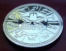 PROOF LIKE BRILLIANT SILVER DOLLAR 1978 CANADA DOLLAR,  EDMONTON! w/HOLDER