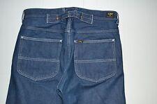 Lee 101 Union B lisière Denim Jeans W32 L32 cinchback Buckleback dungarees pants