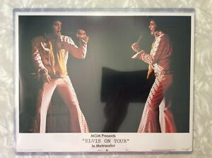 Original Elvis On Tour Lobby Card Jumpsuit / MGM / Direct From Memphis